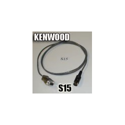 Cable de interfaz KENWOOD S15