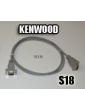 Cable de interfaz KENWOOD S18