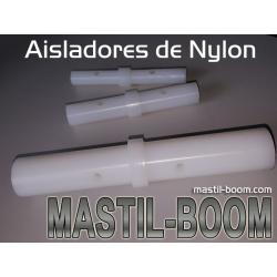 Aislador de Nylon 25mm
