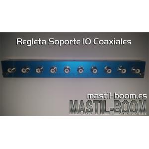SOPORTE 10 COAXIALES