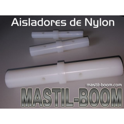 Aislador de Nylon 12mm