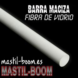 Barra Diámetro 40x500 FIBRA DE VIDRIO