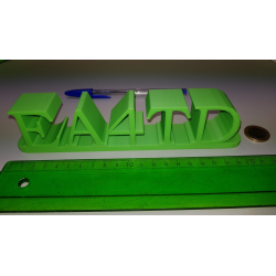 Indicativo 3D Modelo: MB-M