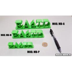Indicativo 3D Modelo: P