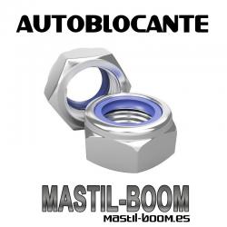 Tuerca M-8 Autoblocante (Bolsa 10 uds)