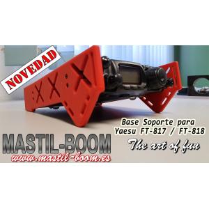 Soporte Base en 3D para Yaesu FT-817 / FT-818