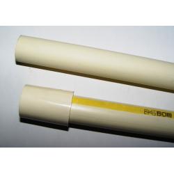 Tubo de PVC guiado cinta