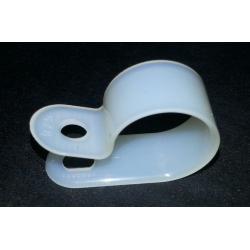 Abrazadera plástica diámetro 15mm (C/U)