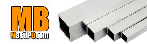 Quadradros aluminum tubes
