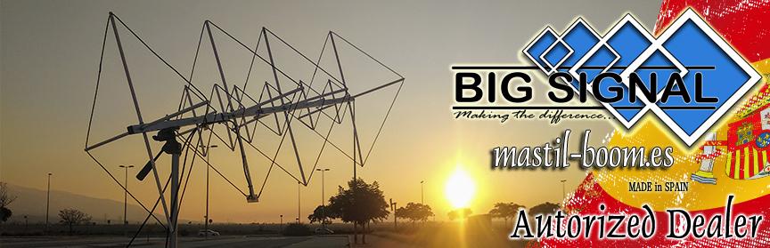 Mastil-Boom Shop Big Signal Antenas