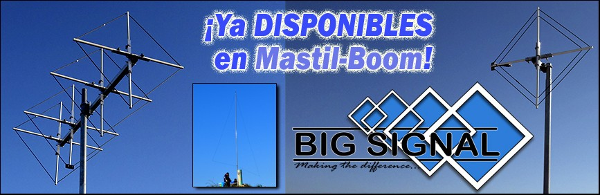 Mastil-Boom Shop Big Siganl Antenas