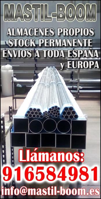 Mastil-Boom Shop - Aluminio