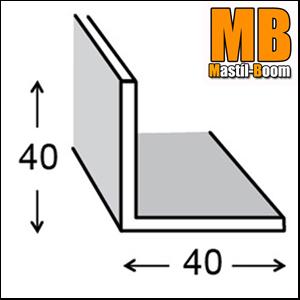 Mastil-Boom Ángulos Aluminio